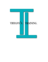 Tiffany's Training