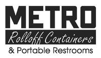 Metro Rolloff Containers & Portable Toilets