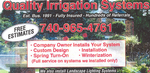 Quality Irrigation Systems