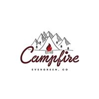Campfire Evergreen