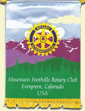 Mountain Foothills Rotary Evergreen