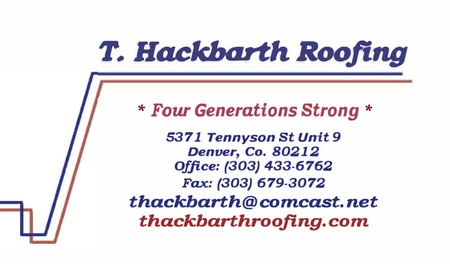 T Hackbarth Roofing