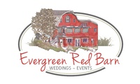 Evergreen Red Barn