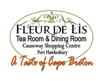 Fleur de lis Tea Room/Dining Room