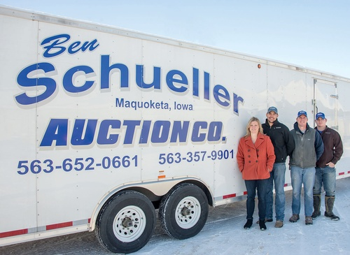 Gallery Image Schueller%20Auction%20Trailer%20and%20staff.jpg