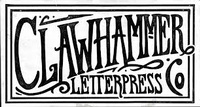 Clawhammer Letterpress and Gallery