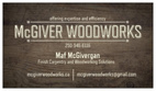 McGIVER WOODWORKS