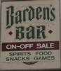 Barden's Bar, Inc.