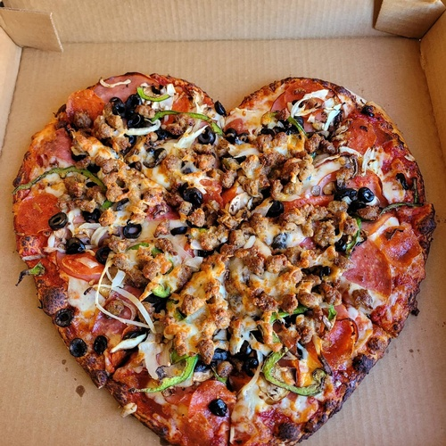 Valentine's Day is for pizza lovers!