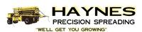 Haynes Precision Spreading