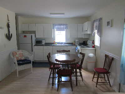 The Tides Cottage fully equipped kitchen
