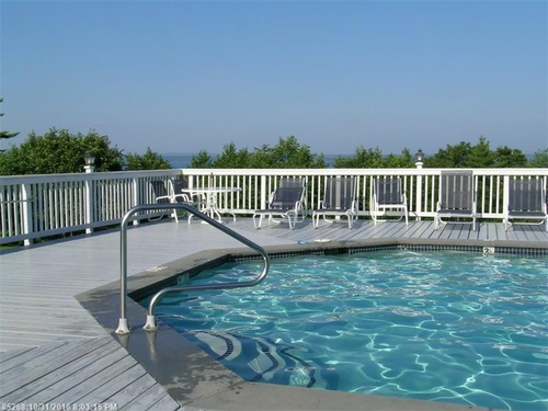 Our pool & hot tub - open July through September 15