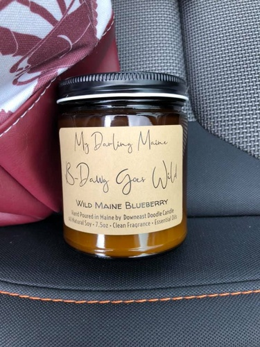 My Darling Maine soy candle line