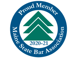 Long term proud member of the Maine State Bar Assn.