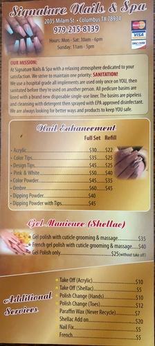 Signature Nails and Spa | Nail Salon & Spa - Columbus Chamber of ...