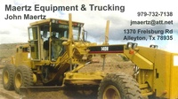 Maertz Equipment and Trucking LLC