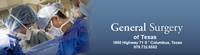 General Surgery Of Texas