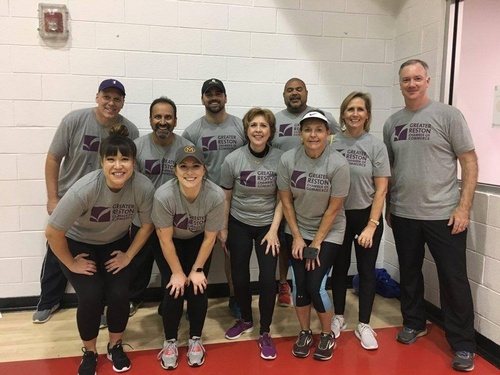 GRCC Staff & Board Members at Corporate Challenge - October 2019