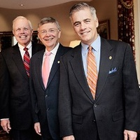 George Duncan, Chairman; Jack Clancy, CEO and Richard Main, President