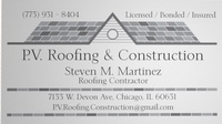 P.V. Roofing & Construction