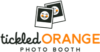 Tickled Orange Photo Booth