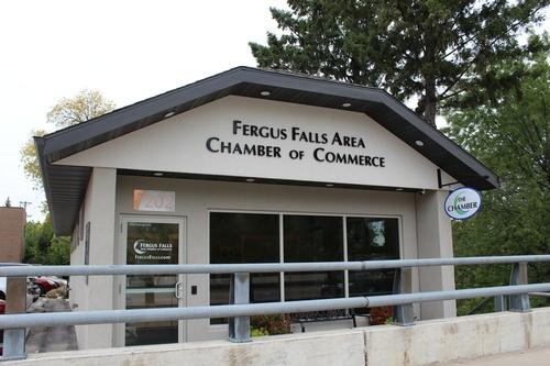 Fergus Falls Chamber Office along the RiverWalk