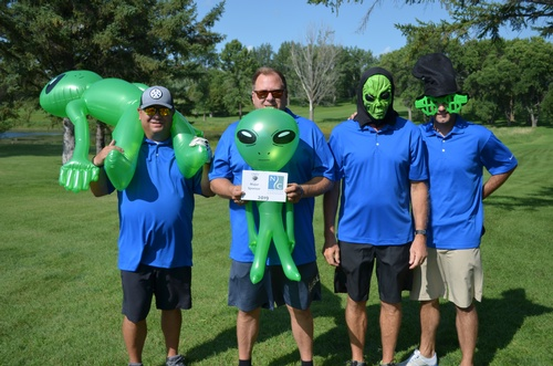 Outer Space Open Chamber Golf Team 2019