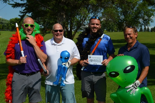 Outer Space Open Chamber Golf Team