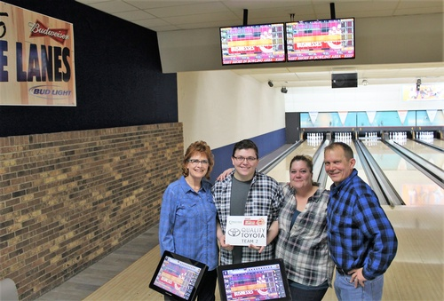 Battle of the Businesses Bowling 2020 Team 2