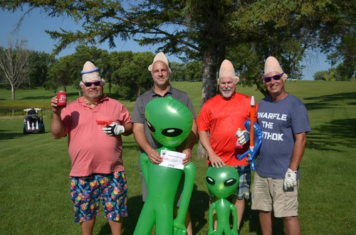 Service Food ''Outer Space Open'' Golf Tournament Team