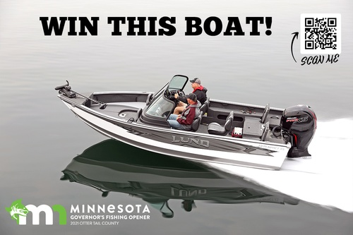 Get a chance to WIN a NEW Boat