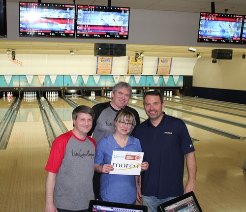 Marco Battle of the Businesses Bowling Team 2018