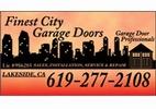 Finest City Garage Doors