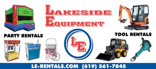 Lakeside Equipment for all your party needs