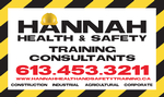 Hannah Health & Safety Training