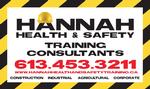 Hannah Health & Safety Training
