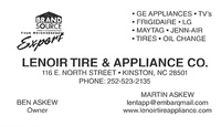 Lenoir Tire & Appliance Co.