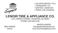 Lenoir Tire & Appliance Co.