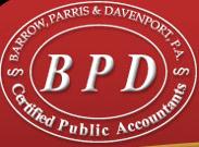 Barrow, Parris, & Davenport, P.A.