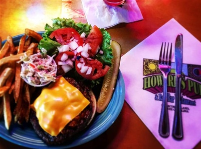 Cheeseburger - Topped with your choice of Swiss, Cheddar, American, Provolone or Monterey Pepper Jack