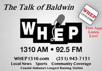 WHEP ''The Talk of Baldwin''  1310/92.5