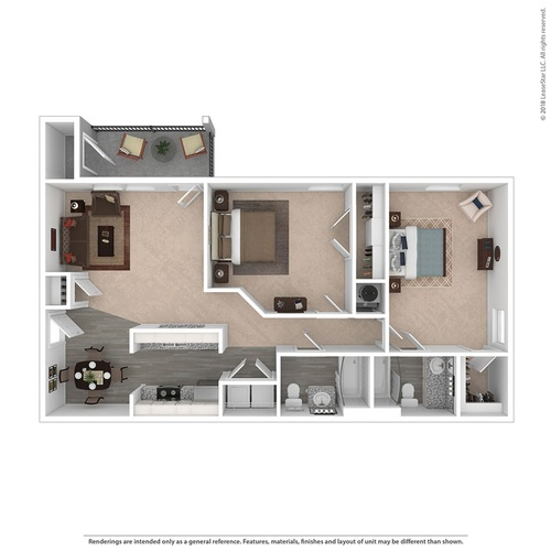 Floor plan Morgan