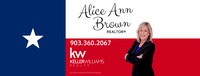 Alice Ann Brown, Realtor