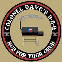 Colonel Dave's BBQ Gourmet Rub For Your Grub