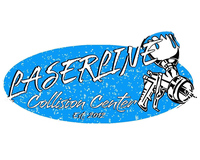 Laserline Collision and Glass Center