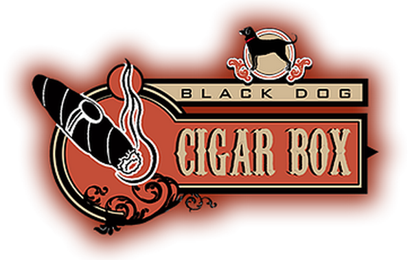 Black Dog Cigar Box