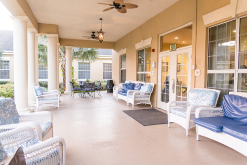 VITAS Suites at Tiffany Hall Nursing and Rehabilitation Center in Port St. Lucie is a home away from home for patients near the end of life and their families in the Treasure Coast.
