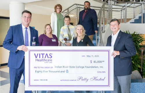VITAS gives back to the community to assist food banks across the Treasure Coast.