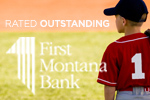 Federally rated ''Outstanding'' for Community Reinvestment.