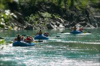 Enjoy a relaxing and mellow float down the scenic section of the Middle Fork of the Flathead.